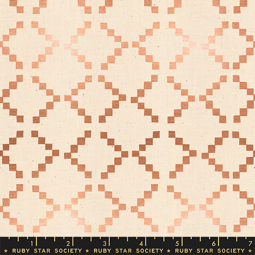 Ruby Star Society - Tile Copper Metallic - Golden Hour - By Alexia Abegg