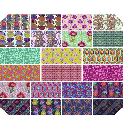 PRE-ORDER - Bright Eyes FQ Precut - 22 pieces - Anna Maria Horner - Expected May 2021