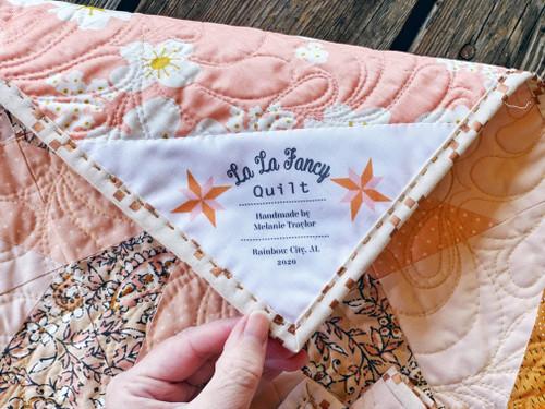 LaLa Fancy Quilt Label