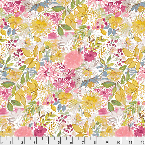 Free Spirit Fabrics - Garden Grove Ochre - Adelaide Grove - Dena Designs