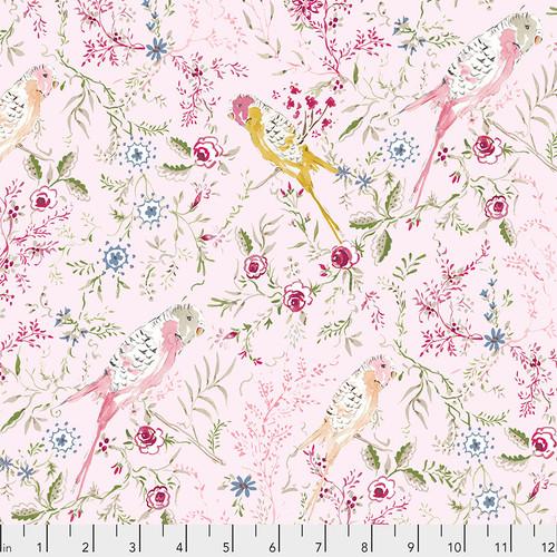 Free Spirit Fabrics - Parakeet Park Pink - Adelaide Grove - Dena Designs