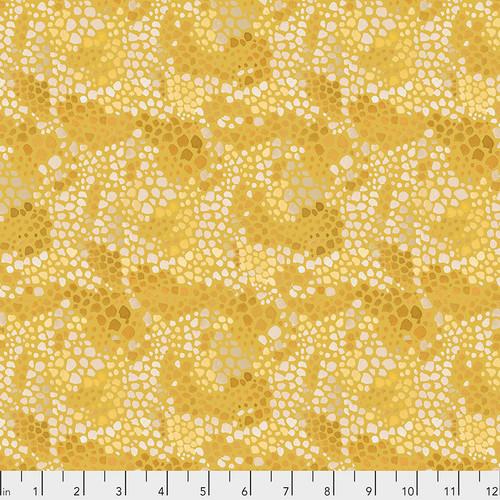 Free Spirit Fabrics - Melany Mosaic Ochre - Adelaide Grove - Dena Designs