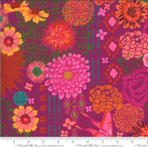 Moda Fabrics - Bazaar Berry - Kasada - By Crystal Manning