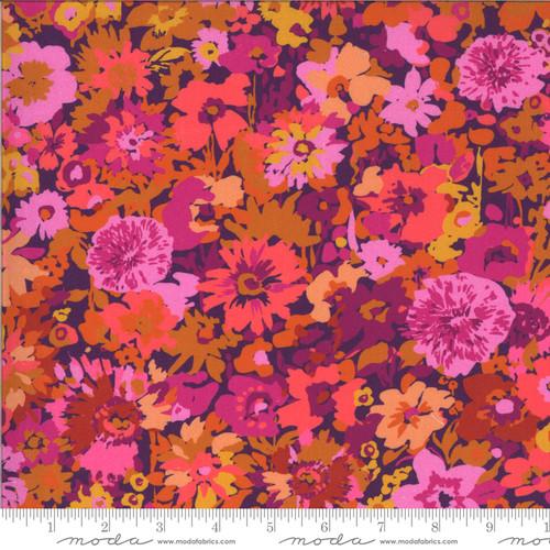 Moda Fabrics - Flower Field Berry - Kasada - By Crystal Manning