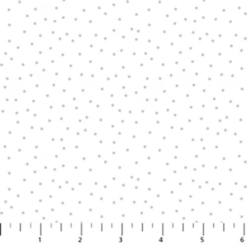 Figo Fabrics - Serenity - Dots White - Ghazal Razavi