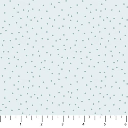 Figo Fabrics - Serenity - Dots Blue- Ghazal Razavi
