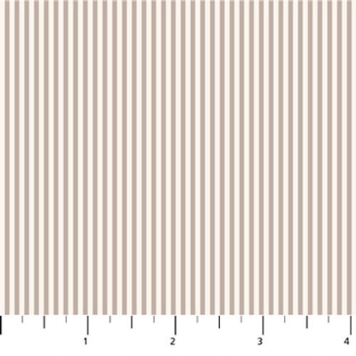 Figo Fabrics - Serenity - Stripes Taupe - Ghazal Razavi