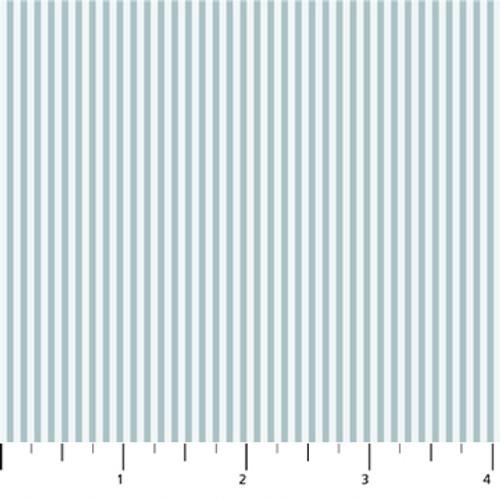 Figo Fabrics - Serenity - Stripes Blue - Ghazal Razavi