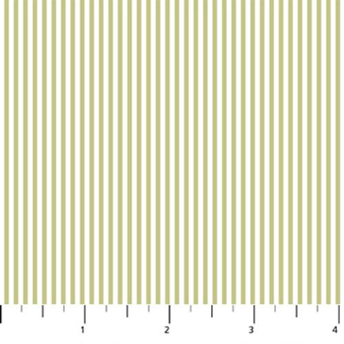 Figo Fabrics - Serenity - Stripes Green - Ghazal Razavi