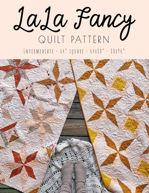 LaLa Fancy Quilt Pattern - PDF - Automatic Download