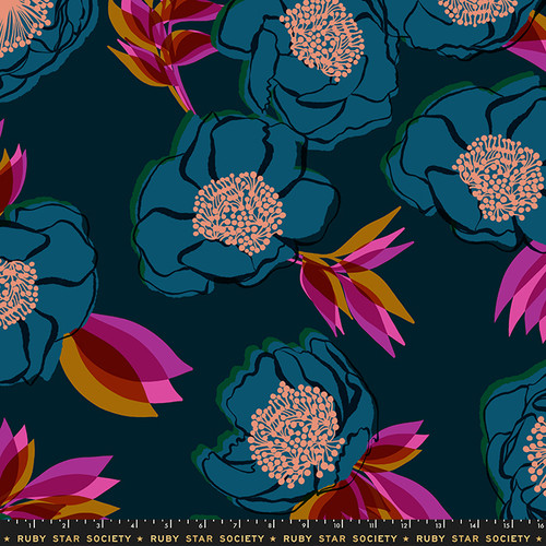 Ruby Star Society - Beam Dark Teal - Rise - Melody Miller - WIDE BACK
