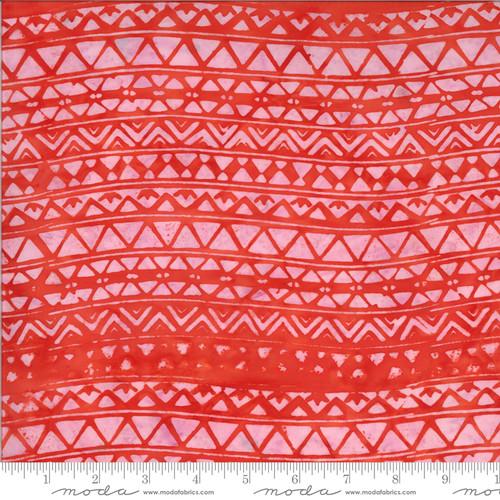 Moda Fabrics - Stripe Coral - Malibu Batiks