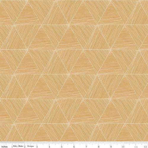 Riley Blake Fabrics - Peaks Golden - Rocky Mountain Wild - Corinne Wells