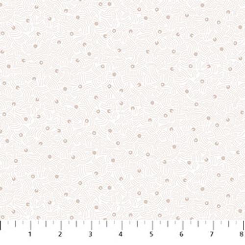 Figo Fabrics - Air in White - Elements - Ghazal Razavi
