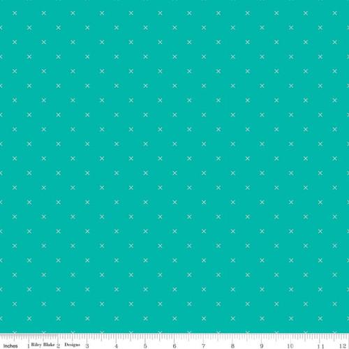 Riley Blake Fabrics - Vivid - Bee Cross Stitch - Lori Holt