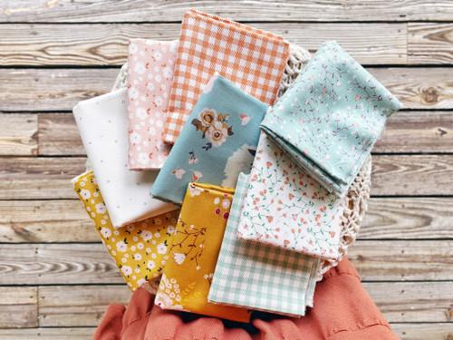 Hidden Cottage - 9 pieces - Minki Kim - Riley Blake Fabrics