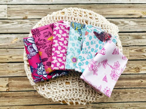 Woodland Walk - 6 pieces - Nathalie Lete - Free Spirit Fabrics