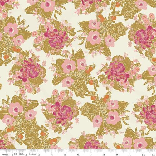 Main Cream - Faith Hope & Love - Sue Daley - Riley Blake Designs
