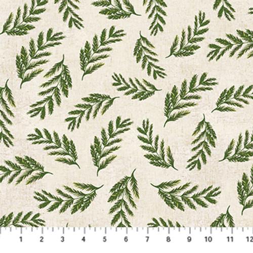 Fern Green Multi - Wildflower - Boccaccini Meadows - Figo Fabrics