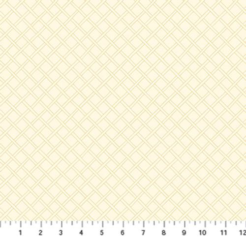 Primavera - Trellis Beige - Pippa Shaw - Figo Fabrics