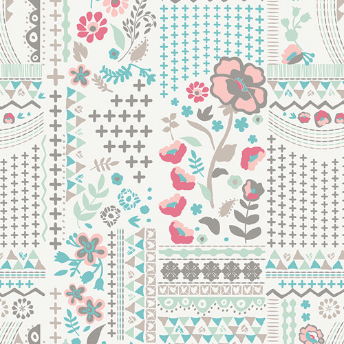 Art Gallery Fabrics - Wonderlust Field - Vintage Chic Capsules - By AGF Studio