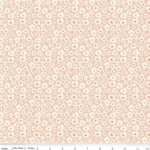 Flowers Blush - Ava Kate - Carina Gardner - Riley Blake