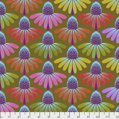 Echinacea Glow Autumn - Hindsight - Anna Maria Horner - Freespirit Fabrics