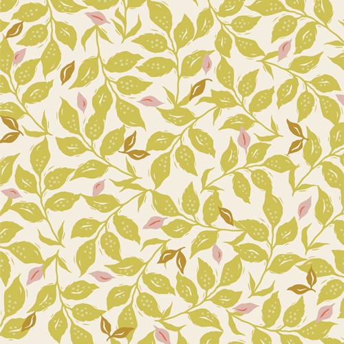 Woodcut Sunrise - Velvet - Amy Sinbaldi - Art Gallery Fabrics