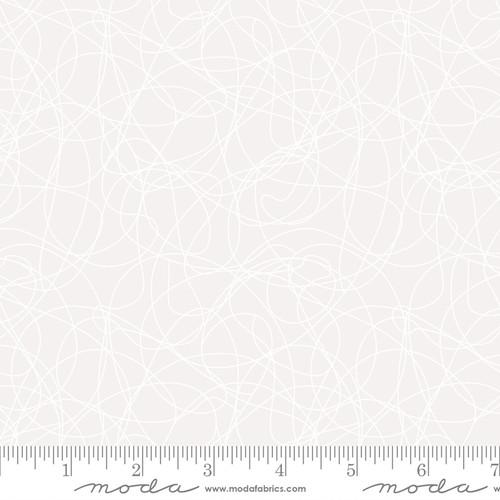 Tangles White - Whispers - Studio M - Moda