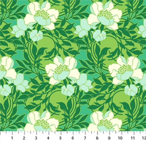 Smitten Emerald - True Kisses - Heather Bailey - Figo Fabrics