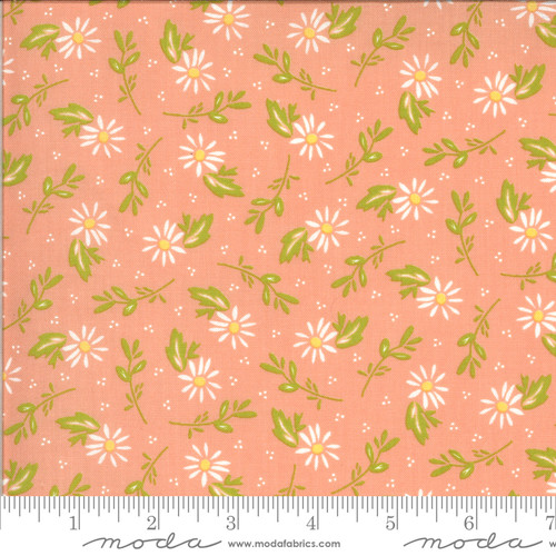 Dainty Peach - Happy Days - Sherri & Chelsi - Moda Fabrics
