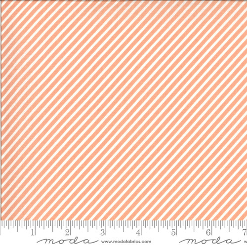 Stripe Peach - Happy Days - Sherri & Chelsi - Moda Fabrics