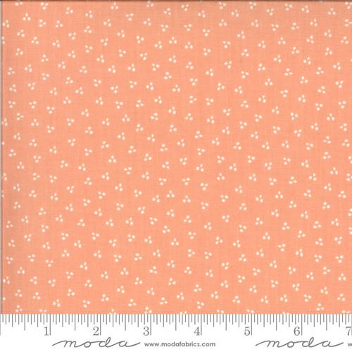Spring Dots Peach - Happy Days - Sherri & Chelsi - Moda Fabrics