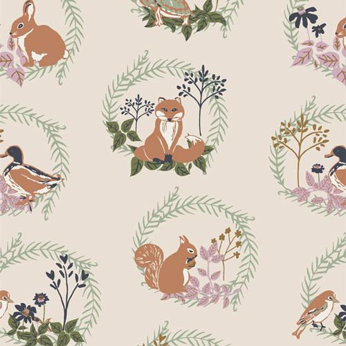 Forest Friends - Lilliput - Sharon Holland - Art Gallery Fabrics
