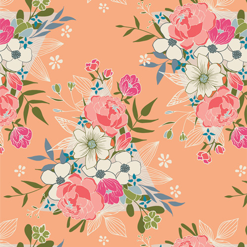 Flowering Hope - Open Heart - Maureen Cracknell - Art Gallery Fabrics