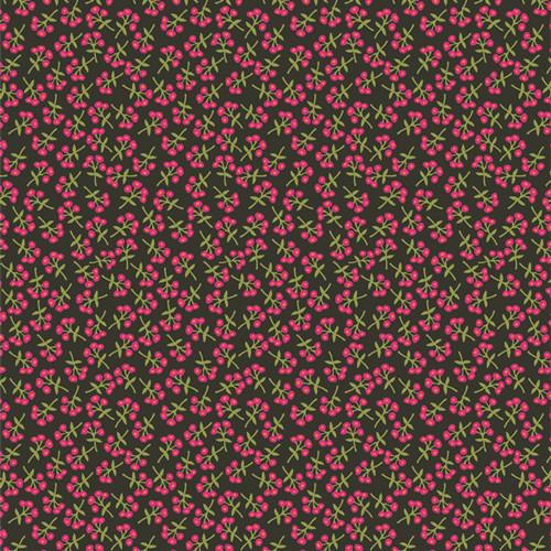 Sweet Floret Cerise - Open Heart - Maureen Cracknell - Art Gallery Fabrics