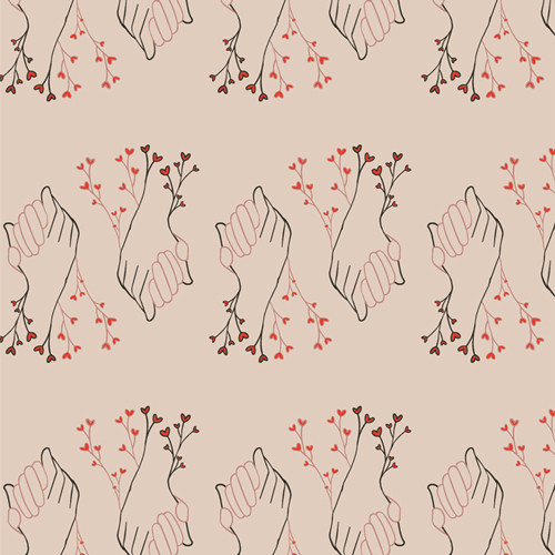 Better Together - Open Heart - Maureen Cracknell - Art Gallery Fabrics