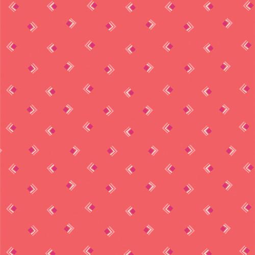 Everlasting Tokens Coral - Open Heart - Maureen Cracknell - Art Gallery Fabrics