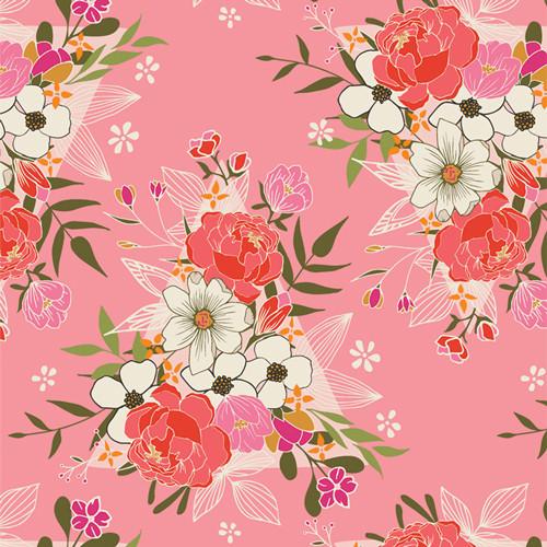 Flowering Love - Open Heart - Maureen Cracknell - Art Gallery Fabrics