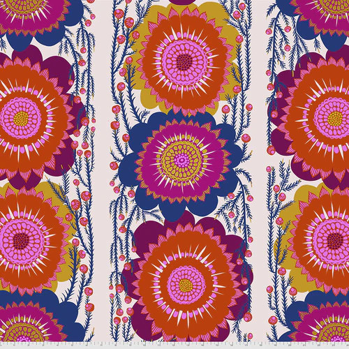 WIDE BACK - Optimistic Cream - Bright Eyes - Anna Maria Horner - Free Spirit Fabrics