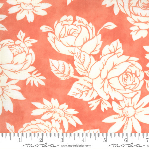 Fancy Apron Rhubarb - Strawberries Rhubarb - Fig Tree - Moda Fabrics