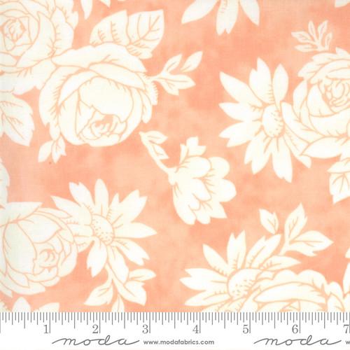 Fancy Apron Apricot- Strawberries Rhubarb - Fig Tree - Moda Fabrics