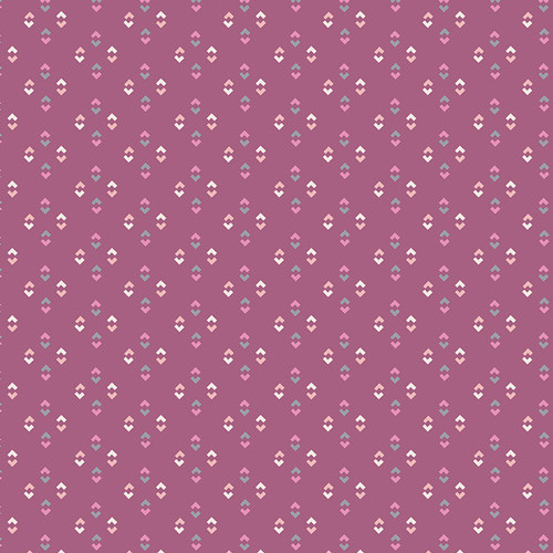 Lucy Mauve - Dollhouse - Amy Sinbaldi - Art Gallery Fabrics