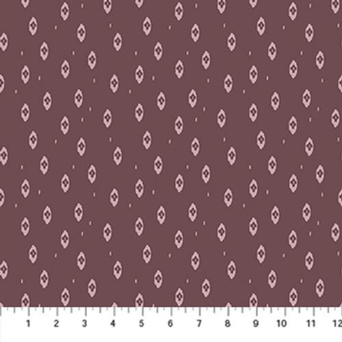 Ikat Purple - Summer's End - Alison Janssen - Figo Fabrics