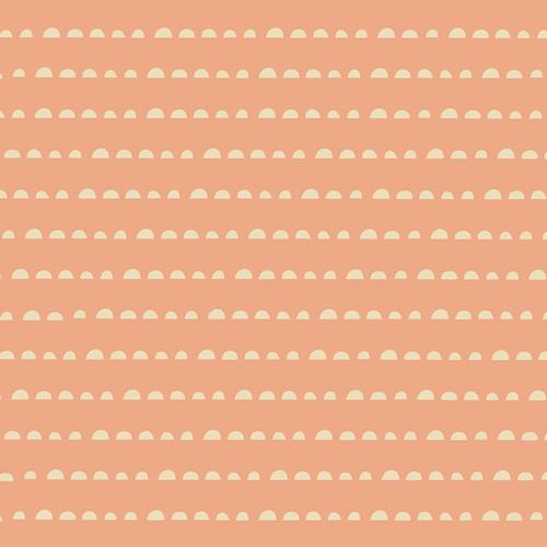 Stay Humble Apricot - Soulful - Maureen Cracknell  - Art Gallery Fabrics