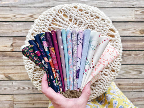Fluttering Bundle  - 15 Pieces - Curated for the Little Miss Sawtooth OR Sugar Bear Quilts