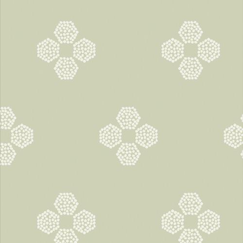 Droplet Petal Vert - Vert Fusion - AGF Studio - Art Gallery Fabrics