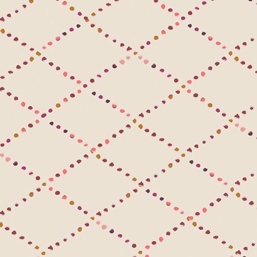 Bokeh Lattice Rosewood - Rosewood Fusion - AGF Studio - Art Gallery Fabrics