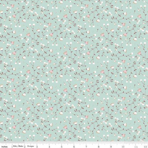 Sundrops Songbird - Hidden Cottage - Minki Kim - Riley Blake Fabrics