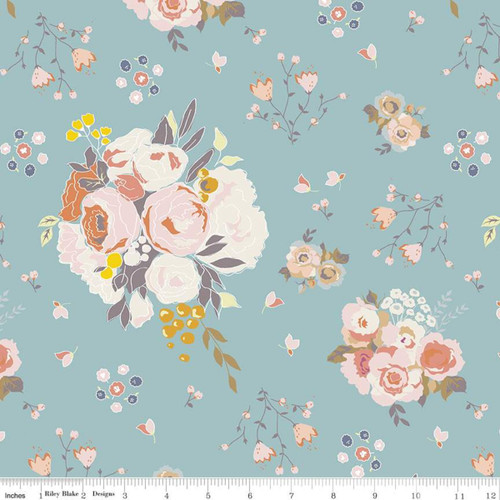 Main Sky - Hidden Cottage - Minki Kim - Riley Blake Fabrics